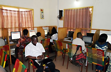 Internetcafe in Tamale